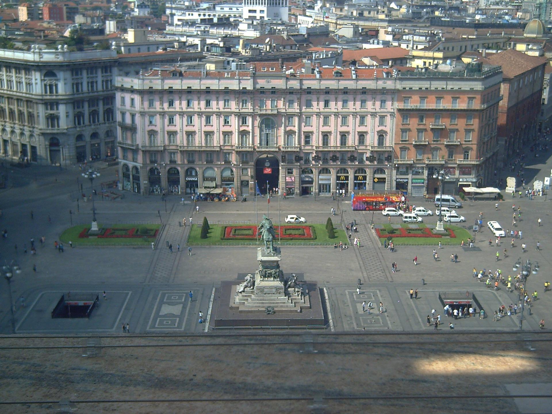 Solch klare Sicht findet man nicht immer in Mailand, Foto: Pixabay