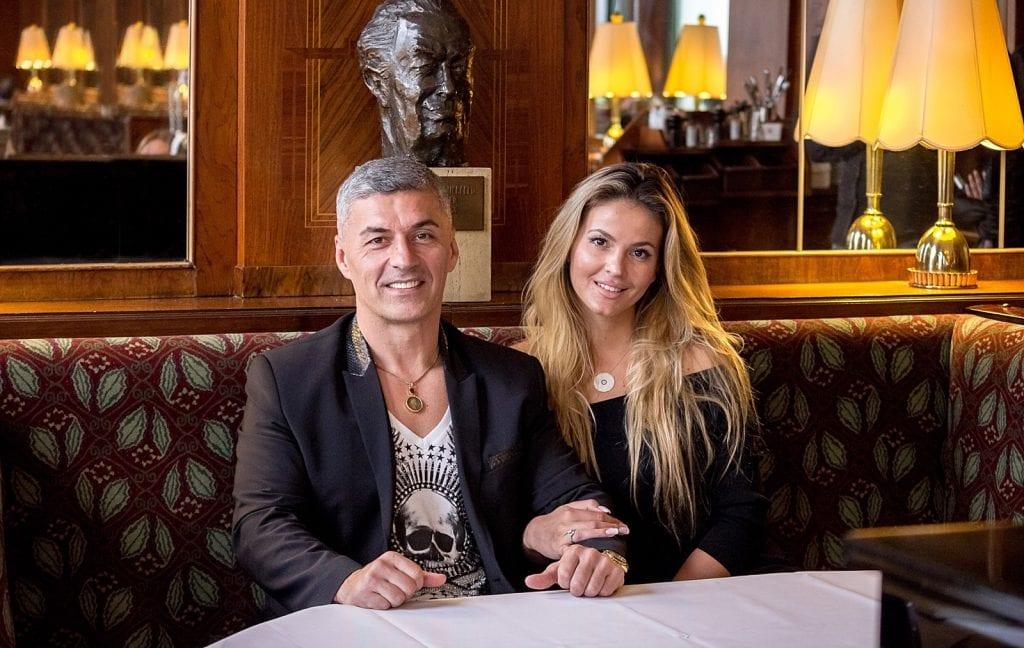 Richard Steiner mit Ehefrau