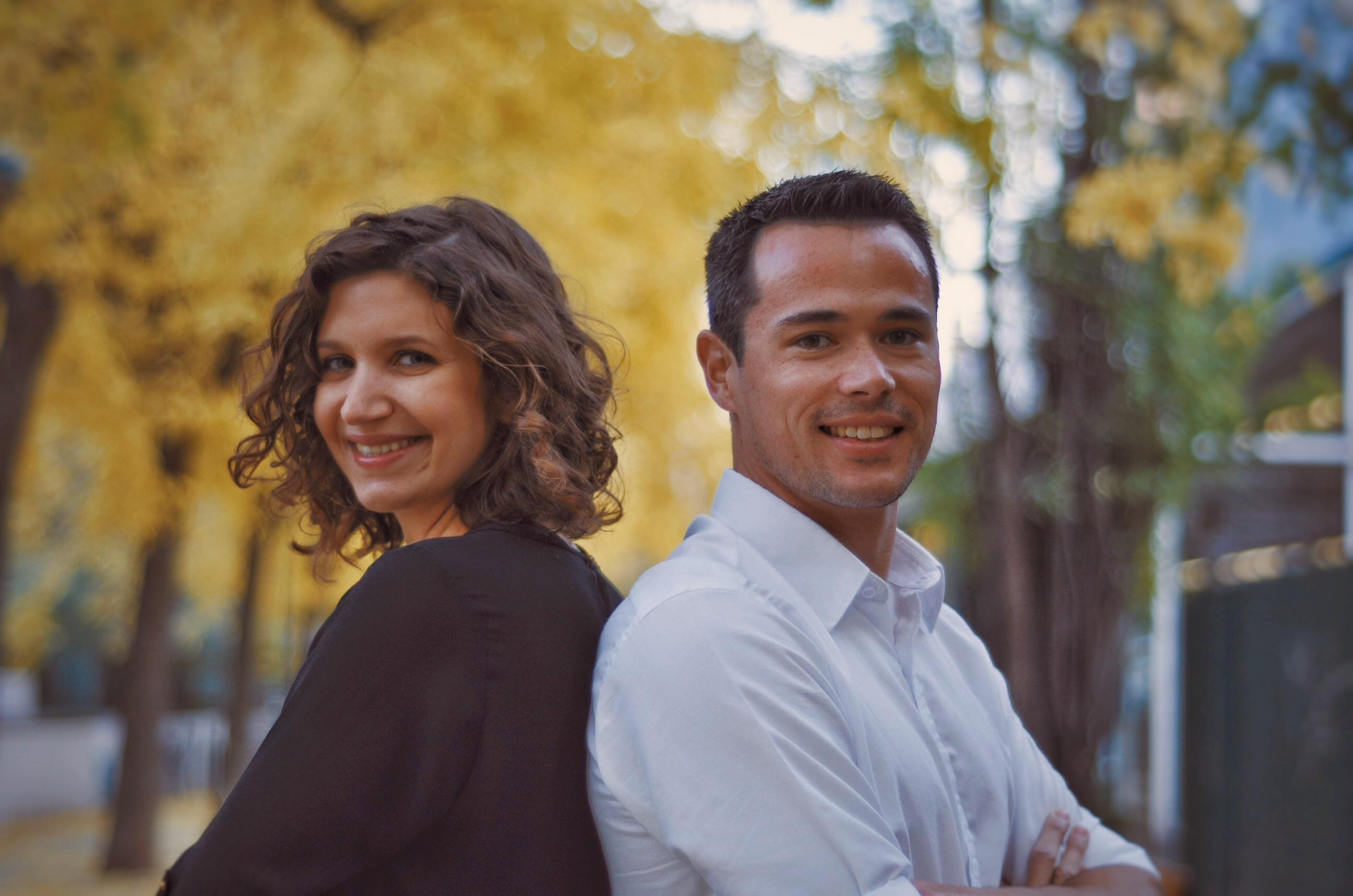 Wolfgang Fallmann und Miriam Boubachta, Foto: Markus Neubauer