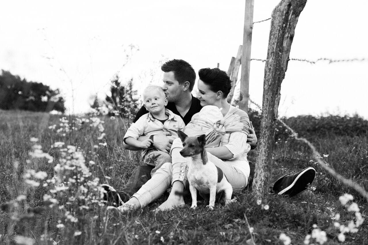 Von links: Maximilian, Mathias, Melly und Valerie